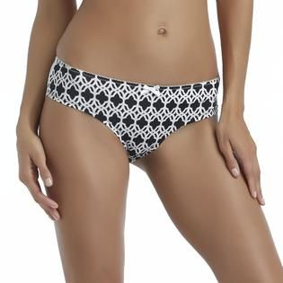 Jaclyn Smith Womens Lace Back Hipster Panties   Clothing, Shoes