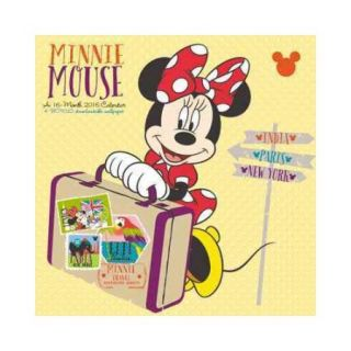 Disney Minnie Mouse 2016 Calendar: Free Downloadable Wallpaper Included