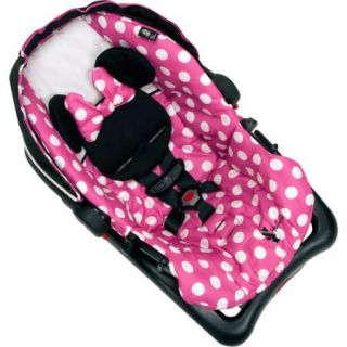 Disney Baby Minnie MouseLight 'n Comfy Luxe Infant Car Seat, Minnie Dot