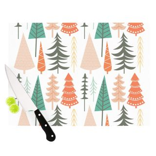 Happy Forest Cutting Board by KESS InHouse