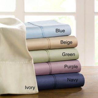 Brielle Home 100 percent Egyptian Cotton Sateen 630 Thread Count Sheet