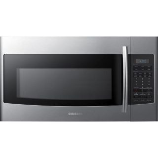 Samsung 1.8 Cu. Ft. Over the Range Microwave Stainless/Stainless look SMH1816S