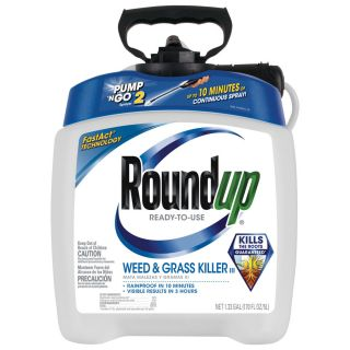 Roundup Pump and Go 170.24 oz Weed and Grass Killer