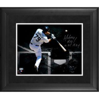 Fanatics Authentic Jose Abreu Chicago White Sox Framed Autographed 11 x 14 Spotlight Photograph with #79 14 A.L. R.O.Y. Inscription
