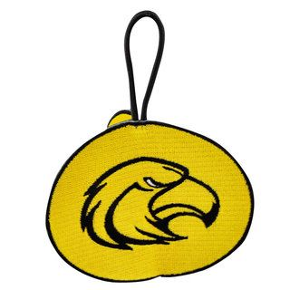 NCAA University of Southern Mississippi Golden Eagles 3 sided Ornament
