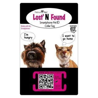 Original Smartphone Collar ID Dog Tag with GPS