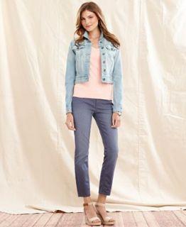 Tommy Hilfiger Denim Jacket, Cotton Tee & Skinny Printed Jeans