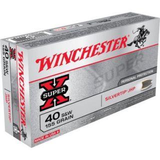 Winchester 40 Smith & Wesson Super   X, 155 Grain