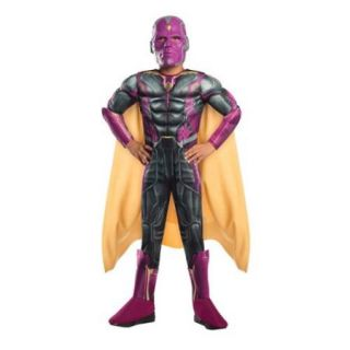 Boys Avengers Deluxe Vision Halloween Costume
