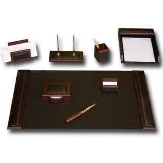 Dacasso Leather 8 Piece Desk Set