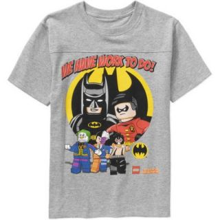 LEGO DC Comics Super Heroes We Have Work to Do! Boys Graphic Tee