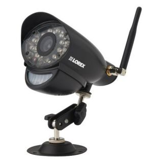 Lorex Live SD+ Add On Indoor/Outdoor Wireless Surveillance Camera for Select Lorex Systems Black LW2731AC1