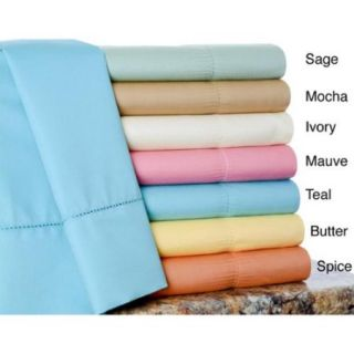 600 Thread Count Cotton Rich Sheet Set Full   Spice