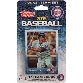 Minnesota Twins 2015 Team Collectible Trading Card Set