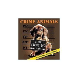 Crime Animals 2015 Calendar