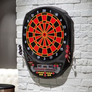 Arachnid® Inter Active 6000 Electronic Dart Board and Darts Set   Dart Boards