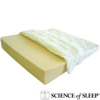 Science of Sleep Angled Specialty Foam Wedged Sleep Aid for Heartburn