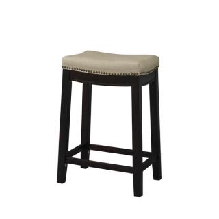 Linon Allure Fabric Top Counter Stool   Shopping   Great