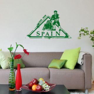 Spain Post Stamp Vinyl Sticker Wall Art   17364967