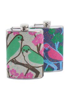 Birds of a Feather Flask  Mod Retro Vintage Kitchen