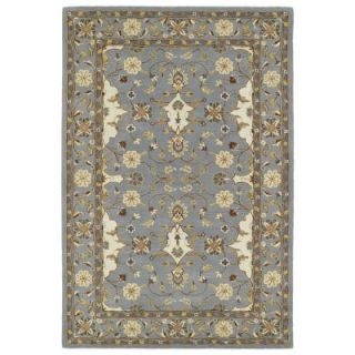 Kaleen Middleton Grey 8 ft. x 10 ft. Area Rug MID01 75 810