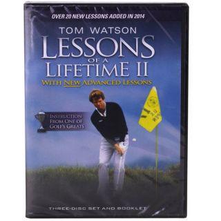 Tom Watson Lessons of a Lifetime II DVD