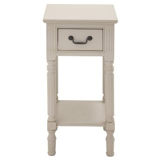 Benzara Fascinating Styled Wood Accent Table   End Tables