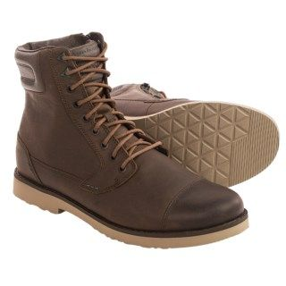Teva Durban Tall Lace Leather Boots (For Men) 46