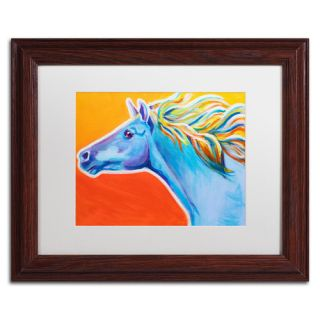 Horse Like The Wind by Alicia VanNoy Call Framed Painting Print