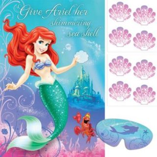 Little Mermaid Party Game (Each)   Party Supplies