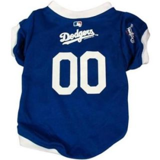 Hunter Mfg DN 31124 L Los Angeles Dodgers Dog Jersey   Large