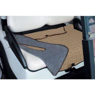 Fairway Patterned Golf Seat Blanket, Plaid