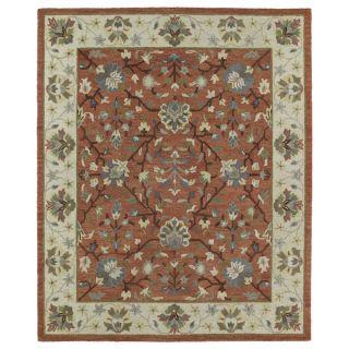 Felicity Comfort Salmon Hand Tufted Wool Rug (96 x 130)   15622899