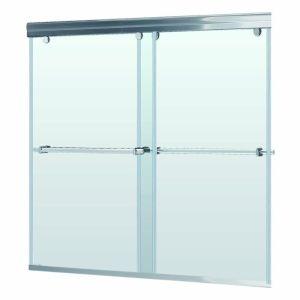 DreamLine SHDR 1360588 04 Charisma Brushed Nickel Shower Doors