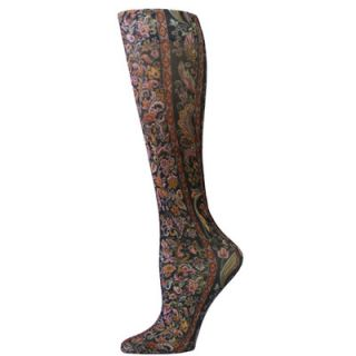 Celeste Stein Designs Fashion Knee High Compression Stockings