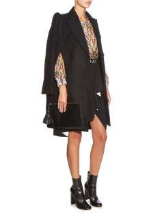 Sasha frill detail wool coat  Preen By Thornton Bregazzi US