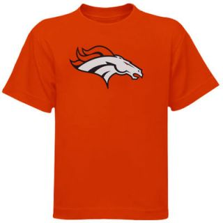 Denver Broncos Preschool Team Logo T Shirt   Orange
