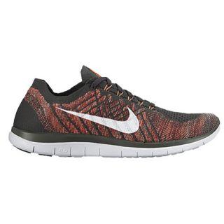Nike Free 4.0 Flyknit 2015   Mens   Running   Shoes   Midnight Fog/Bright Crimson/Hot Lava