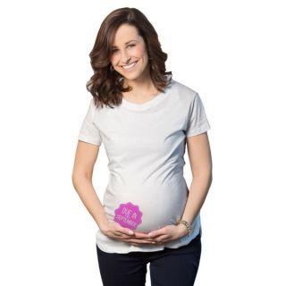 Womens Maternity Due InSeptember Girl Cotton T shirt   17481671