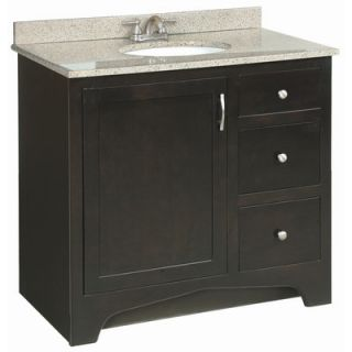 Design House Ventura 36 Single Door Cabinet Vanity Base