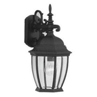 Designers Fountain Outdoor 2431 BK Tiverton Cast Wall Lantern   Outdoor Wall Lights