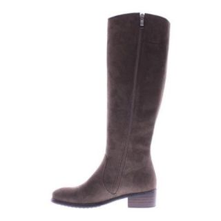 Womens Azura Blackenbury Boot Taupe Micro Suede   17561009