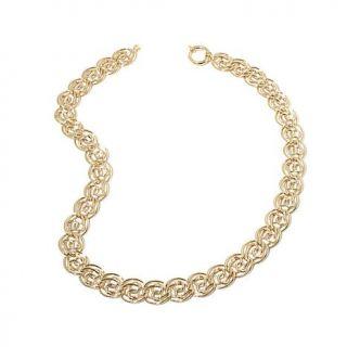 """Sevilla Gold™ 14K Multi Circle Link 18"""" Necklace   7878627"""
