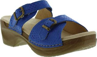 Womens Sanita Clogs Debora Sandal   Blue