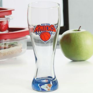 New York Knicks 23oz. Pilsner Clear Bottom Cup with Decal