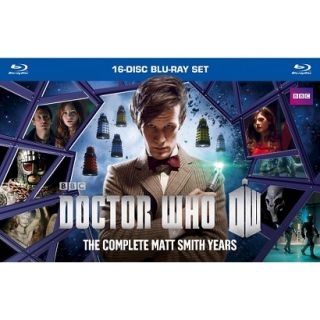 Doctor Who: The Complete Matt Smith Years (16 Discs) (Blu ray) (S