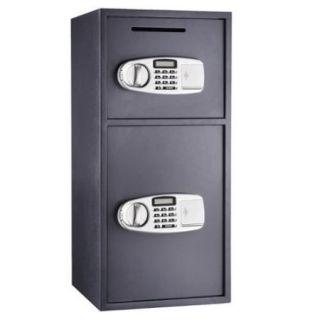 Paragon Lock & Safe Double Door Digital Depository Safe Cash Drop Safe Security