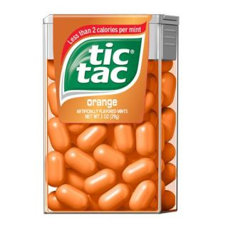 Tic Tac Orange Singles: 12 Count