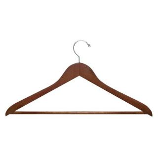 Honey Can Do 24 Pack Wood Hangers   Assorted Colors