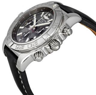 Breitling Chronomat B01 Grey Dial Chronograph Automatic Mens Watch